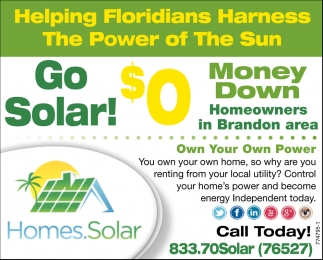 Helping Floridians Harness The Power Of The Sun