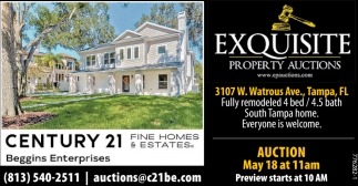 EXQUISITE PROPERTY AUCTIONS