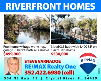 RIVERFRONT HOMES