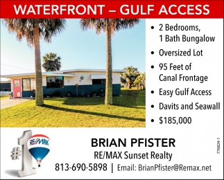 WATERFRONT - GULF ACCESS