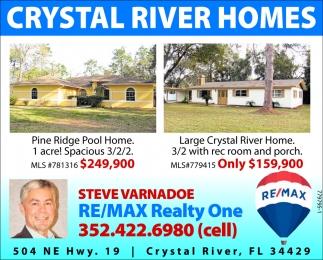 CRYSTAL RIVER HOMES