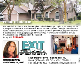PRICE REDUCED!