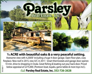 Parsley Real Estate, Inc