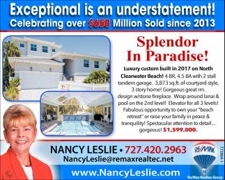 Splendor In Paradise!