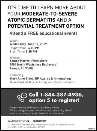 Moderate-To-Severe Atopic Dermatitis