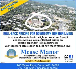 No Evacuation Zone , Mease Manor Apartments, Dunedin, FL