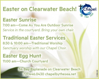 Easter On Cleavwater Beach!