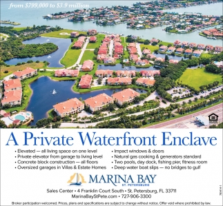 A Private Waterfront Enclave