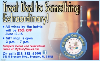 Treat Dad To Something Extraordinary!