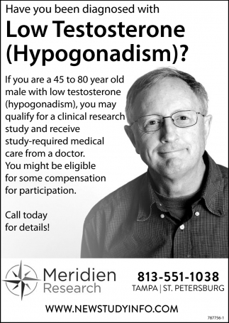 Low Testosterone (Hypogonadism)?