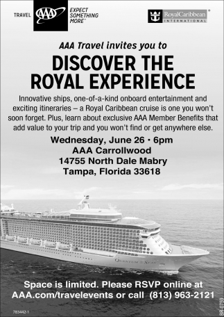 DISCOVER THE ROYAL EXPERIENCE