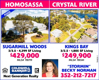 HOMOSASSA  - CRYSTAL RIVER