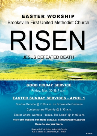 Risen Jesus Defeated Death