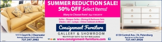SUMMER REDUCTION SALE!
