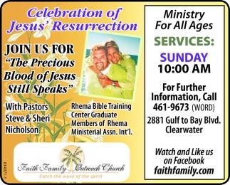 Celebration Of Jesus' Resurrection