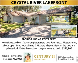 CRYSTAL RIVER LAKEFRONT