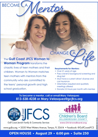 Become A Mentor Change A Life