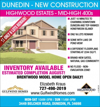 Dunedin new construction gulfwind homes dunedin fl for Nw home builders