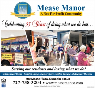 Celebrating 55 Years Of Doing What We Do Best