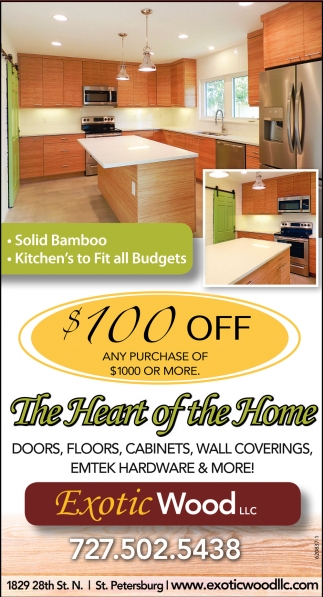 sc 1 st  T&a Bay Times & The Heart Of The Home Exotic Wood Llc