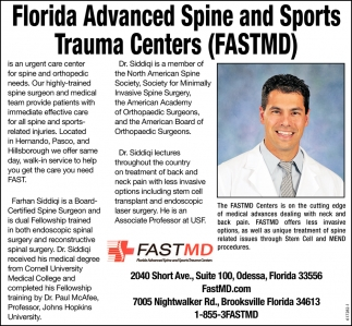 Florida Advanced Spine And Sports Trauma Centers