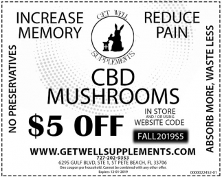 CBD Mushrooms