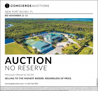 AUCTION NO RESERVE