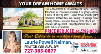 YOUR DREAM HOME AWAITS
