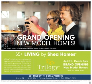 Grand Opening New Model Homes!