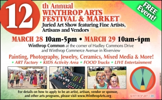 12th Annual Winthrop Arts Festival & Market