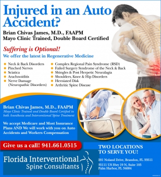 Injured In Auto Accident?
