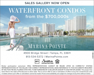 Waterfront Condos From The $700,000s