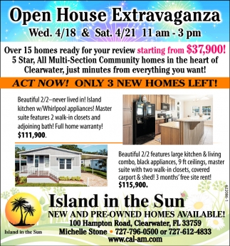Act New! Only 3 New Homes Left!