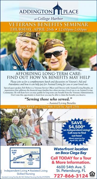Veterans Benefits Seminar