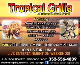 JOIN US FOR LUNCH