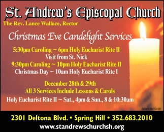Christmas Eve Candelight Services