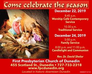 Come Celebrate The Season