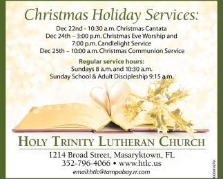 Christmas Holiday Service