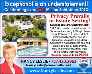 Privacy Prevails In Estate Setting!
