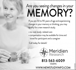 Are You Seeing Changes In Your Memory?