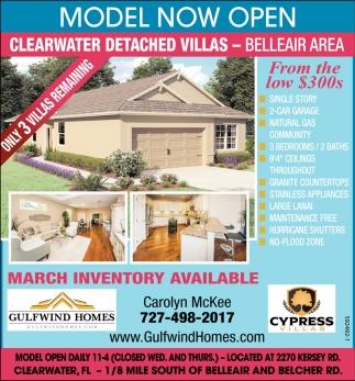 Model Now Open