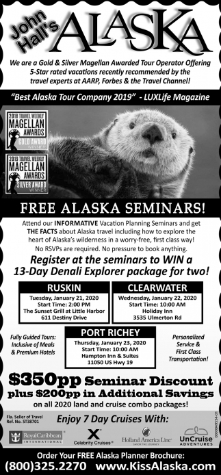 Best Alaska Tour Company 2019
