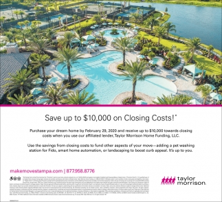 Save Up Ti $100,000 On Closing Costs!
