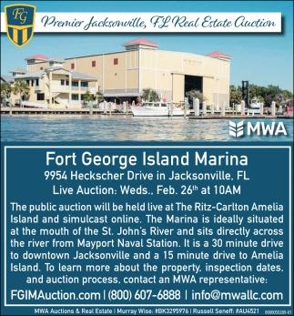 Fort George Island Marina