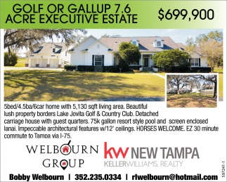 Golf Or Gallup 7.6 Acre Executive Estate
