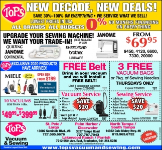 NEW DECADE, NEW DEALS!