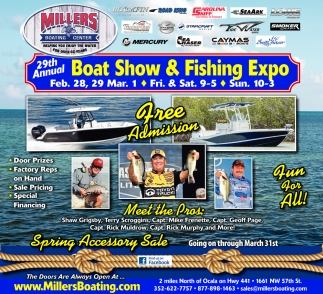 Boat Show & Fishing Expo
