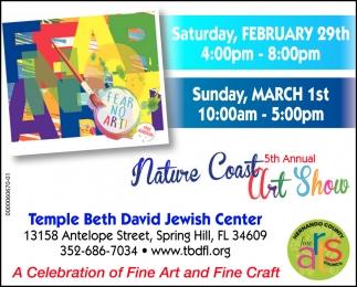 5th Annual Nature Coast Art Show