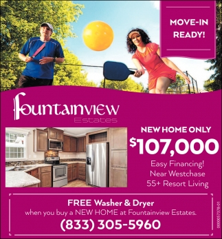 NEW HOME ONLY $107,000