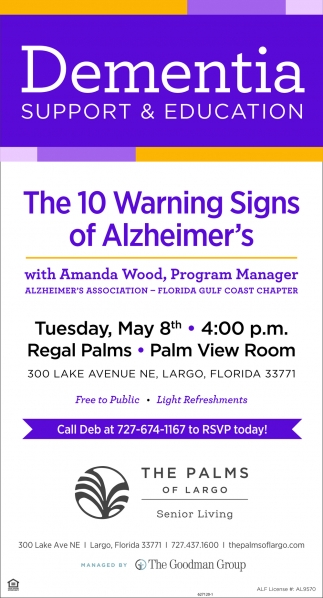 The 10 Warning Signs Of Alzheimer's